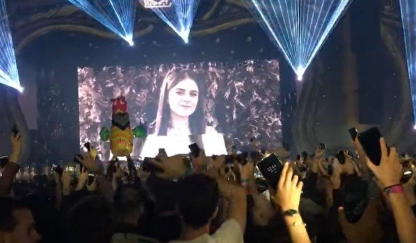 Moment impresionant la Untold: piesă dedicată Alexandrei. Mesajul DJ-ului Don Diablo VIDEO