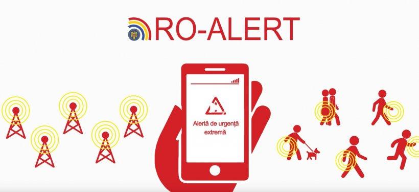 Un operator ISU a fost sancţionat după ce a transmis în judeţ o avertizare Ro-Alert de cod roşu în loc de portocaliu