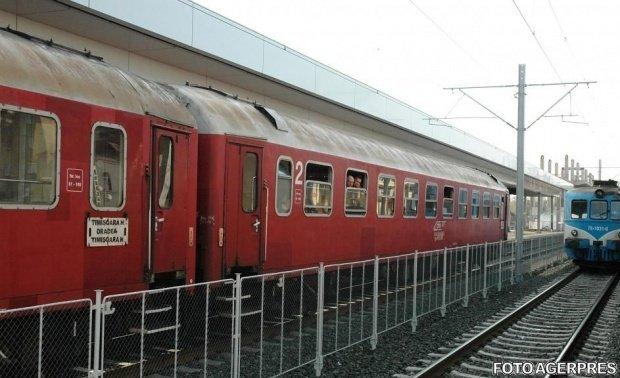 Locomotiva unui tren cu 50 de călători a luat foc în Piatra Neamț