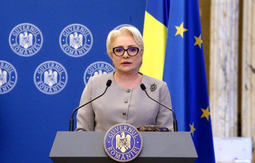"""Viorica Dăncilă, declarații la Guvern despre cazul Caracal: """"Împotriva criminalității trebuie să ducem un adevărat război"""""""