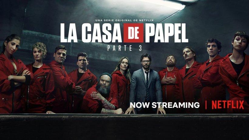 LA CASA DE PAPEL / FABRICA DE BANI. Cu ce vine în plus sezonul al treilea al celui mai urmărit serial al momentului