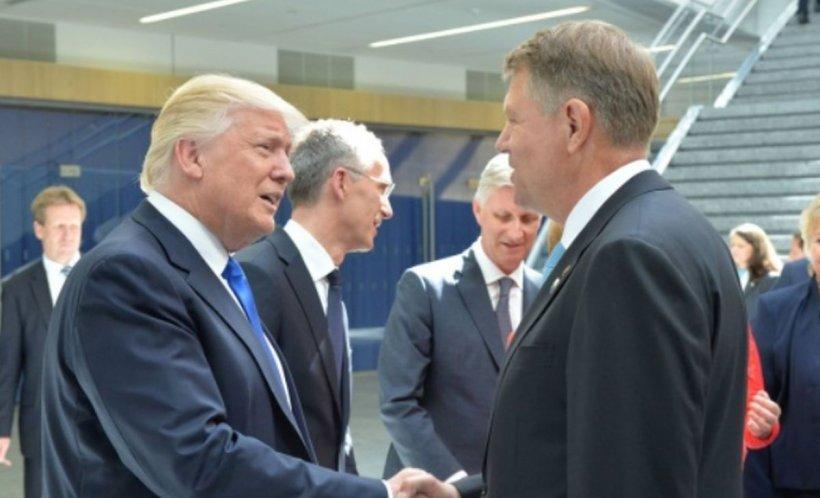 Ce va discuta Klaus Iohannis cu Donald Trump, la Casa Albă