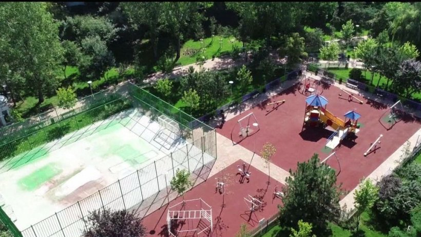 Parcul Sfântul Andrei din sectorul 6, redeschis. Zona din Drumul Taberei nu a mai fost reamenajată de peste 20 de ani