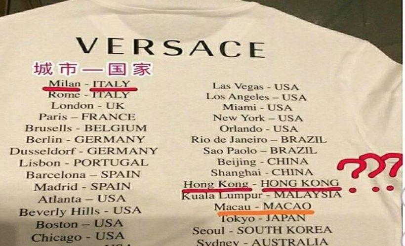 Scandal în lumea modei! Casa Versace este trasă la răspundere pentru o greșeală colosală