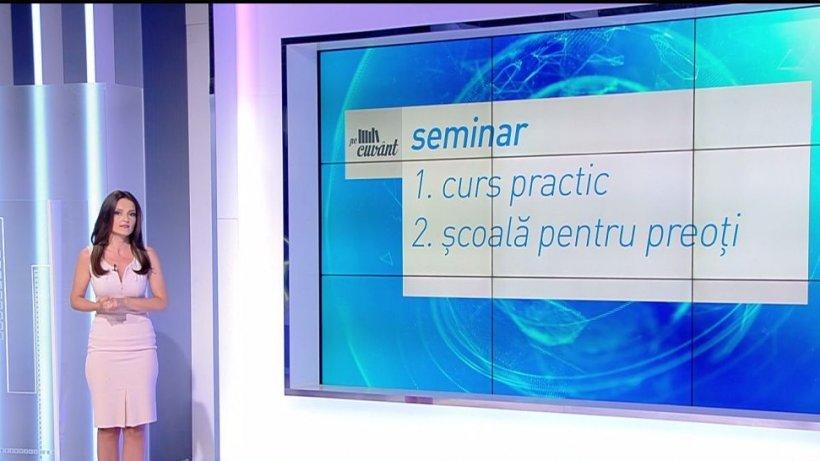 Pe cuvânt, cu Ana Iorga. Care este pluralul cuvântului ''seminar''