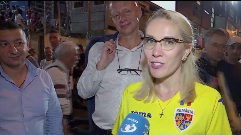 Jucătorii de la CFR Cluj, susţinuţi din tribune şi de Ramona Ioana Bruynseels