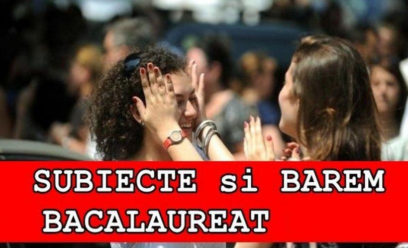 SUBIECTE română BAC toamnă 2019. EDU.RO publică SUBIECTELE la limba română BAC toamnă 2019