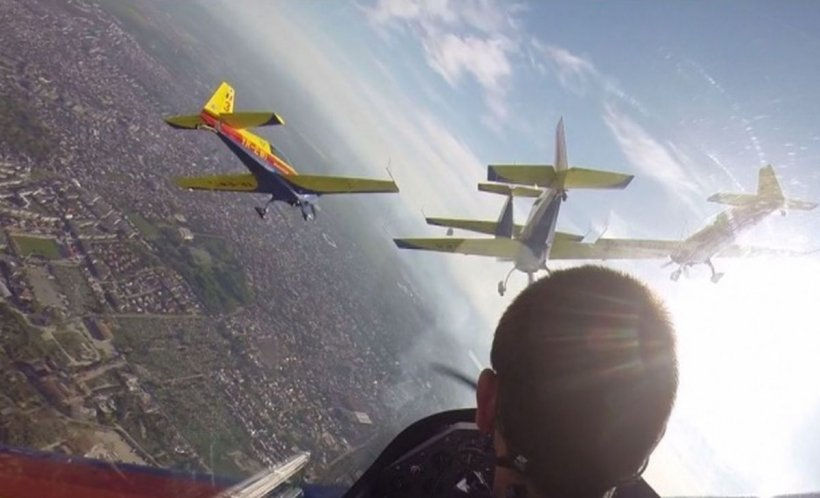 BIAS 2019. Spectacol aviatic fabulos, acrobații de excepție - VIDEO