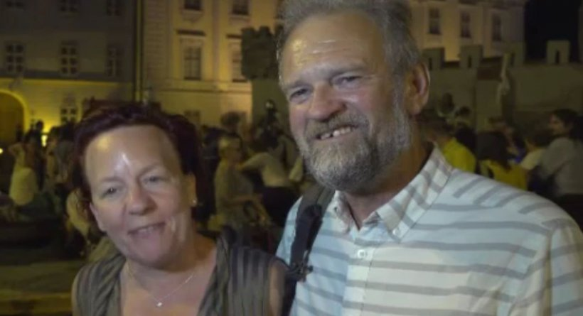 """Doi britanici au venit pentru prima dată în România, în Sibiu, și au avut un șoc: """"Am crezut că suntem în Games Of Thrones"""""""