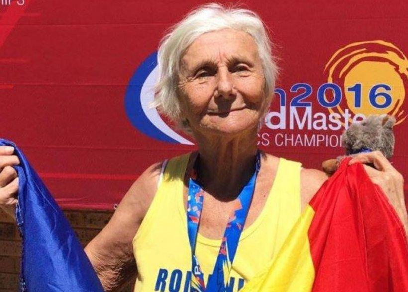 Cea mai vârstnică campioană a României: la 93 de ani câștigă medalii pentru țara noastră 817
