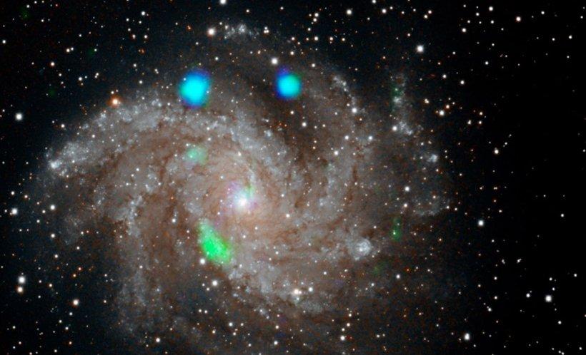 """Savanții NASA sunt uimiți. Au descoperit lumini misterioase într-o galaxie îndepărtată. """"Nu știm de unde vin"""" 534"""