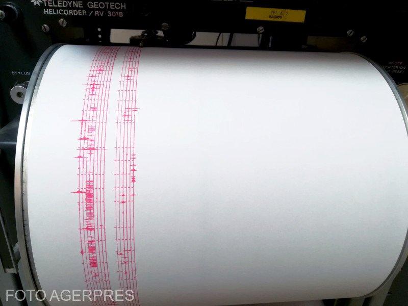 Un nou cutremur produs în zona Vrancea. Ce magnitudine a avut seismul