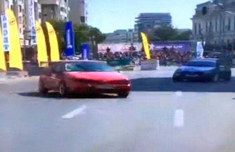 Clipe de groază la Super Rally Craiova. Șase persoane au fost rănite după ce o mașină a ieșit în afara traseului - VIDEO