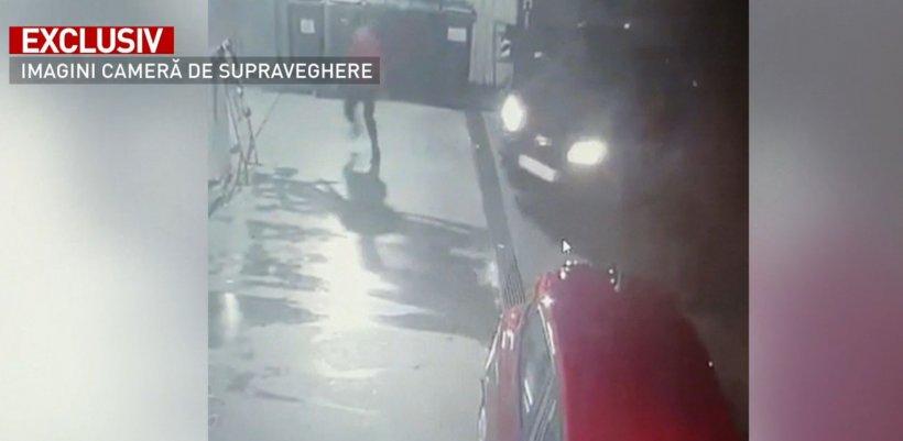 Incident uluitor în București. Un individ a încercat să omoare casiera unei benzinării - VIDEO