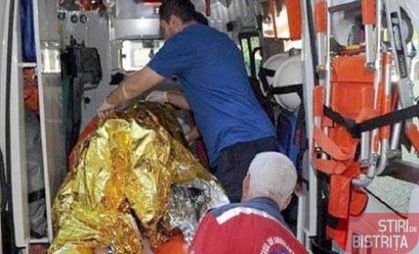 Caz șocant în Bistrița. O tânără de 24 de ani s-a stropit cu benzină și și-a dat foc pentru o banală ceartă - FOTO