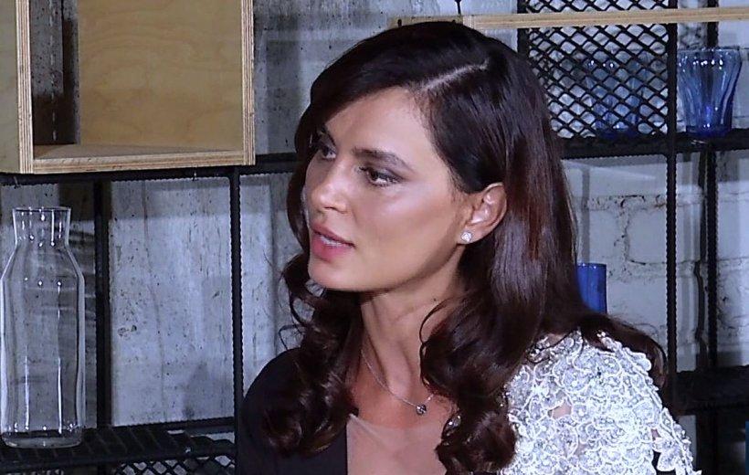 INTERVIU cu actrița Catrinel Menghia, despre primul ei rol în limba română: E ușor când joci cu un actor foarte bun ca Vlad Ivanov