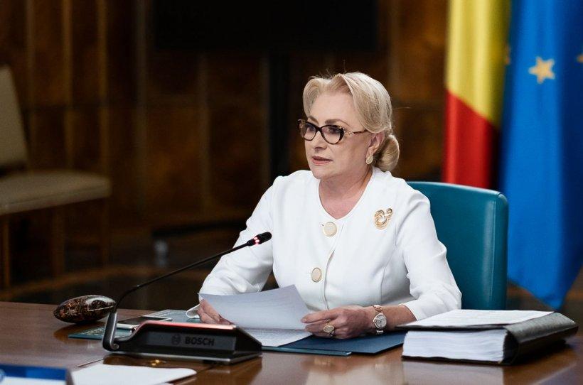 """Premierul Dăncilă: """"Vom merge în Parlament pentru remaniere"""""""