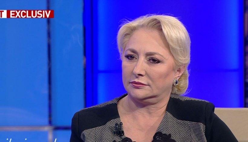 """Premierul Viorica Dăncilă, la Sinteza Zilei: """"Nu cred că trebuie președintele să îmi spună când să merg în Parlament"""""""