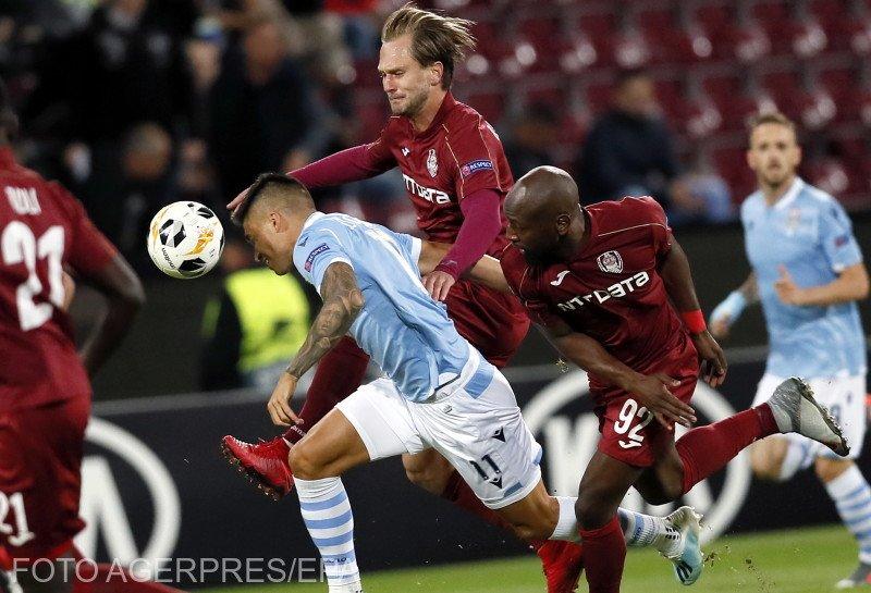 CFR Cluj, victorie splendidă în Europa League: 2-1 cu Lazio