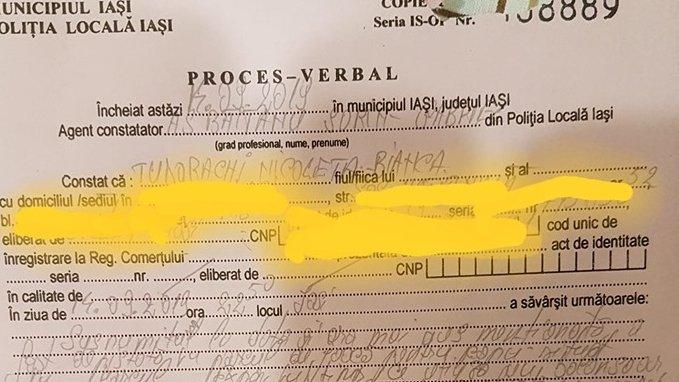"""Nicoleta din Iași se afla într-un parc, când doi polițiști s-au apropiat de ea: """"E strigător la cer!"""""""