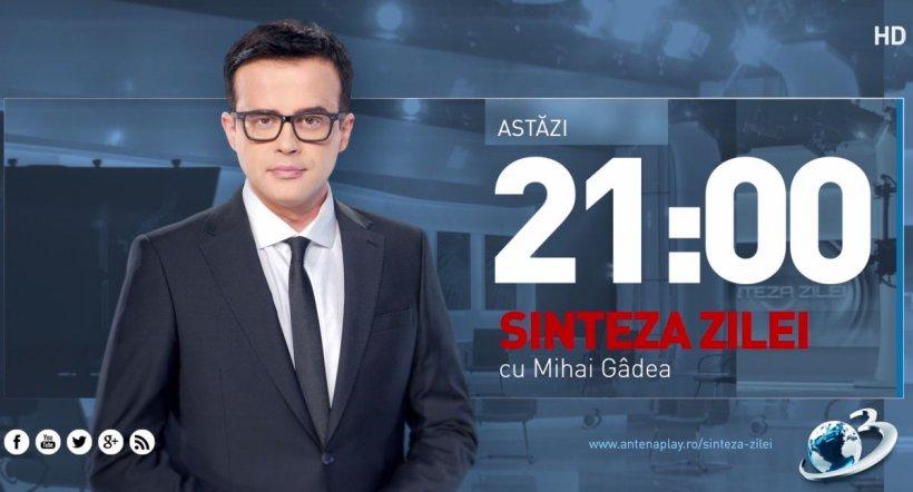 Sinteza Zilei. Mihai Gâdea, față în față cu unul dintre cei mai mari anchetatori ai României. Explicații halucinante în cazul Caracal