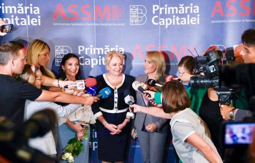 """Viorica Dăncilă: """"Investițiile în Sănătate, în calitatea actului medical, precum și motivarea medicilor de a profesa în țară sunt măsuri pe care le susțin fără rezerve"""""""