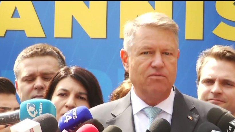 Klaus Iohannis citează din Florin Iordache: ''Altă întrebare!'' - VIDEO