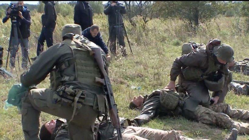 Militarii români au participat la cea de-a doua zi a exerciţiilor militare organizate de NATO