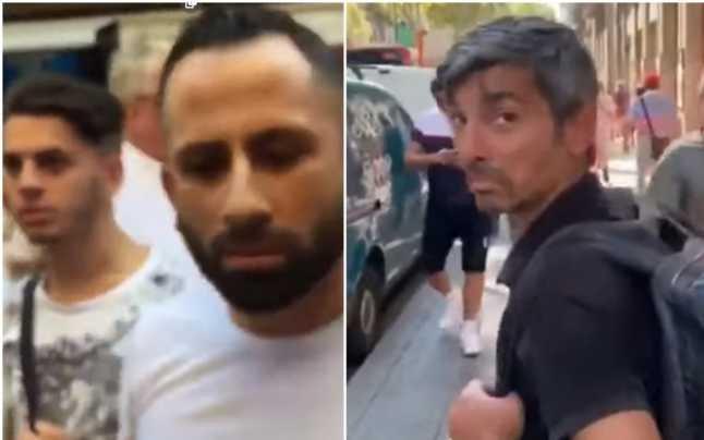 Un spaniol începe să pleznească hoții de buzunare. Reacția genială a unui român