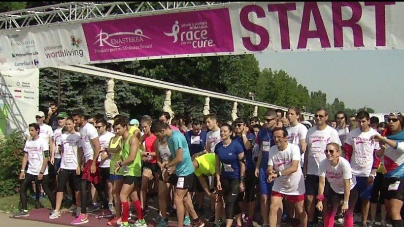 ''Happy Run'', cea mai mare cursă dedicată strângerii de fonduri pentru sănătatea femeilor