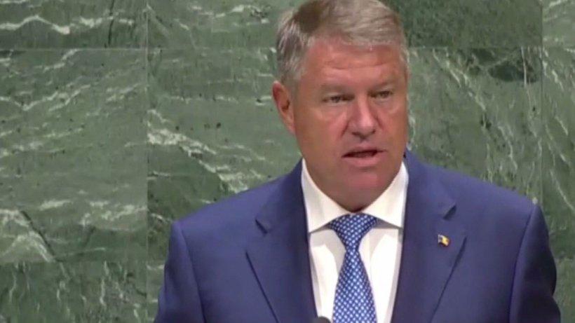 Klaus Iohannis, discurs la adunarea generală a ONU: România, lovită de schimbările climatice