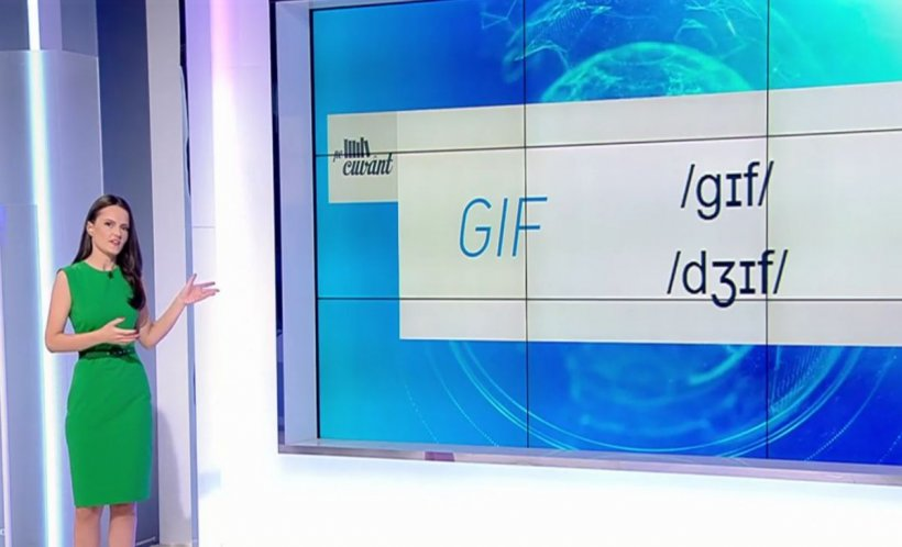 """Pe cuvânt, cu Ana Iorga. Cum se pronunță corect """"GIF"""""""