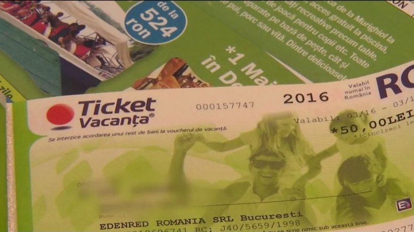 TICHETE DE VACANȚĂ. Vouchere cu valoare mai mare pentru cei care vor să folosească tichetele în extrasezon