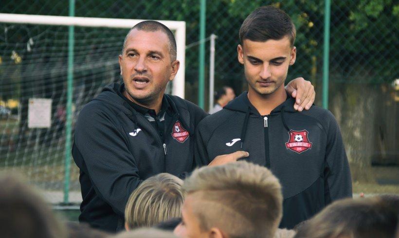 Antrenorul Costel Enache și-a dat demisia de la FC Hermannstadt