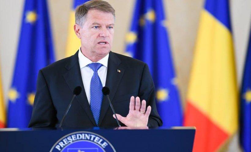 """Klaus Iohannis: """"Educaţia din România ar trebui să formeze valori, din păcate, nu aceasta e regula"""""""