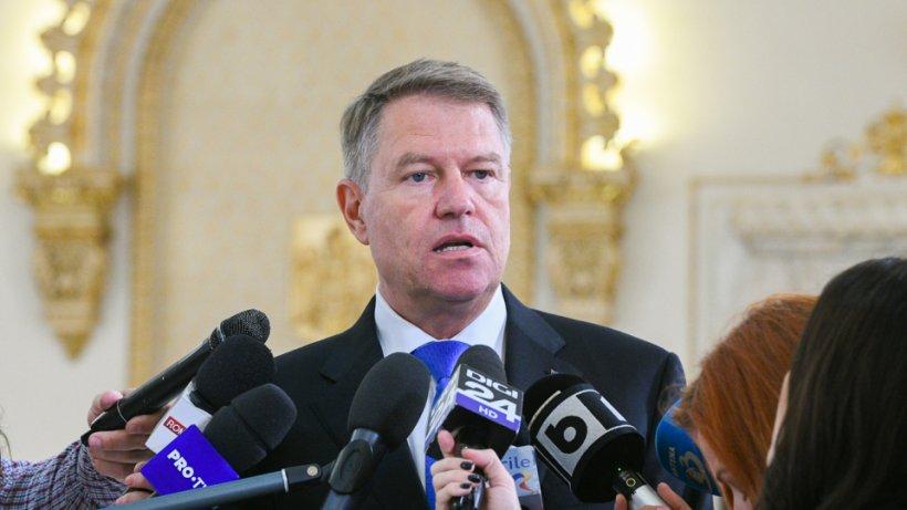 """Klaus Iohannis: """"Nu ne putem aștepta la gesturi de responsabilitate din partea PSD. Soluția firească ar fi aceea a demisiei Guvernului"""" 16"""