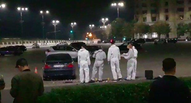 Răsturnare de situație în urma scenelor șocante cu focuri de armă în faţa Parlamentului. Victima ar fi decedat din cauza unei lovituri la cap cu bâta