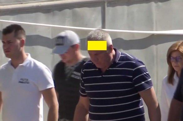 Detaliul şocant observat la Gheorghe Dincă! Ce a apărut pe fruntea criminalului - FOTO