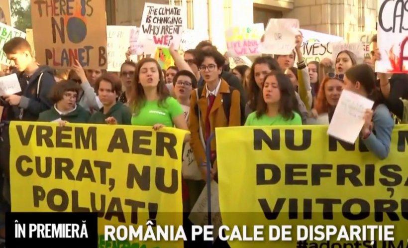 În Premieră. România pe cale de dispariție