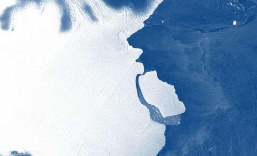 Un aisberg de dimensiunea oraşului Sydney s-a desprins din Antarctica! Se întâmplă la fiecare 60-70 de ani