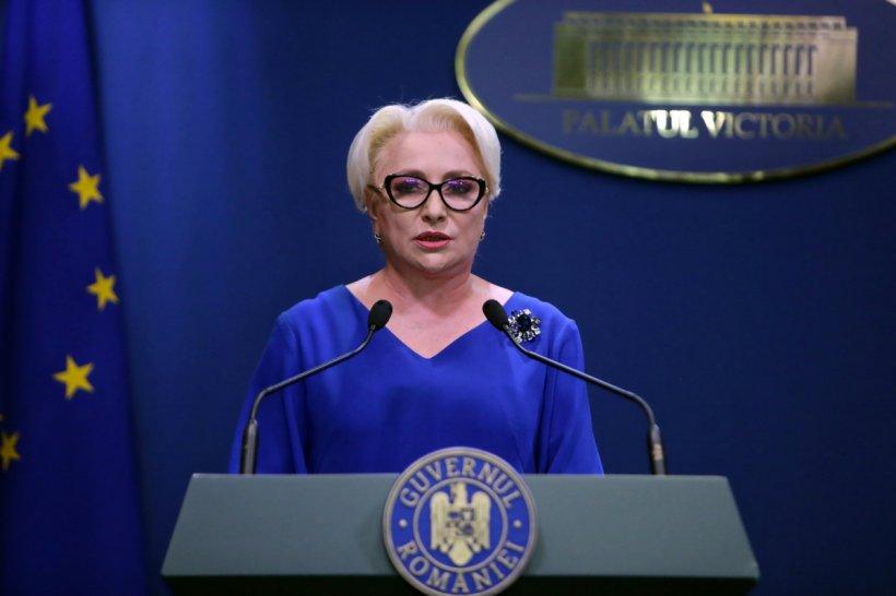 Viorica Dăncilă, anunț de ultimă oră: Guvernul va adopta rectificarea bugetară vineri, la o zi după moțiunea de cenzură