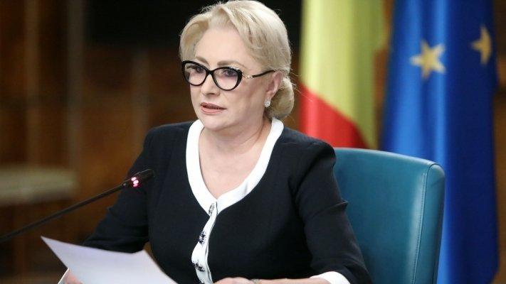 """Viorica Dăncilă: """"Sunt sigură că moțiunea de cenzură nu va trece"""" 16"""