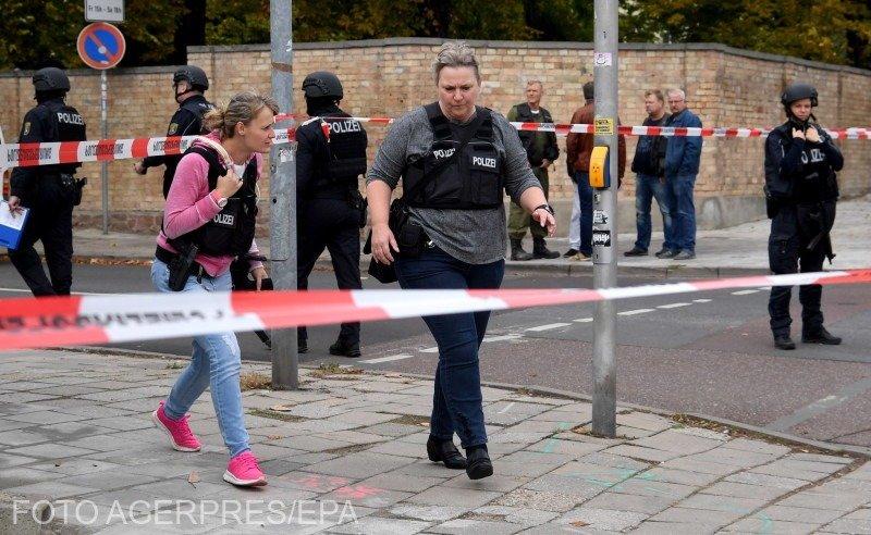 Atac armat la o sinagogă din Germania. Cel puţin două persoane au fost ucise 127