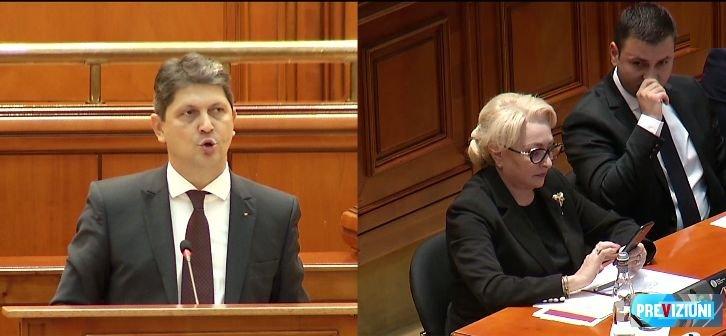 MOȚIUNE DE CENZURĂ. Titus Corlățean, PSD: Moțiunea asta aduce a cântec de jale de pe la 1800