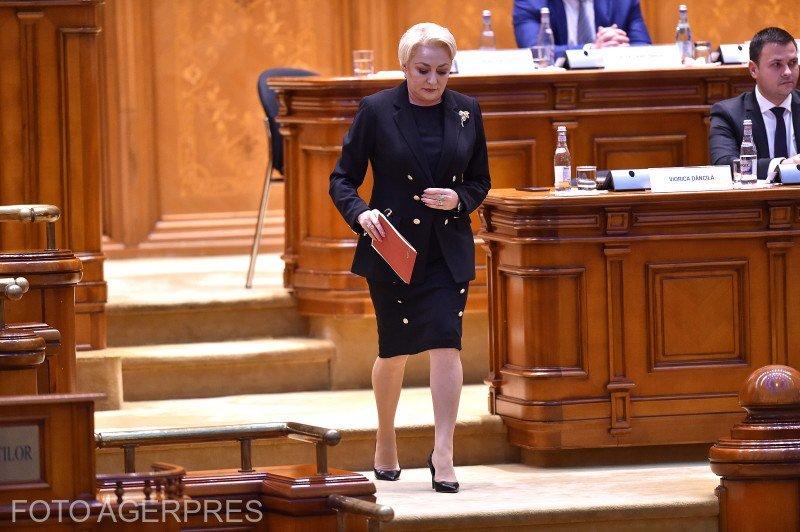 """MOŢIUNEA DE CENZURĂ a trecut. Guvernul Dăncilă a căzut, 238 de parlamentari au votat """"pentru"""""""