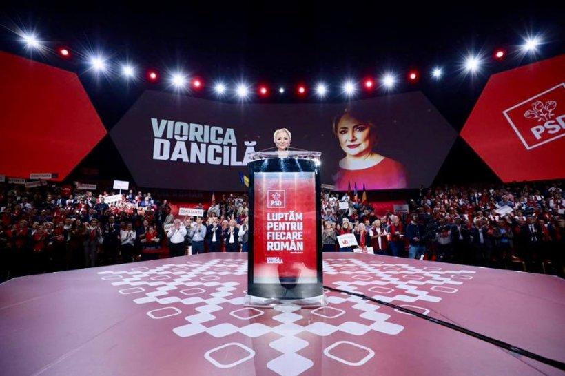 """Viorica Dăncilă: """"Voi lupta pentru a arăta tuturor celor ce astăzi nu mai cred în instituția Președintelui din cauza abuzurilor lui Klaus Iohannis"""""""