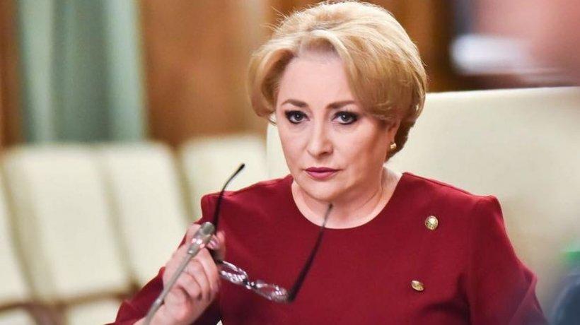 """Viorica Dăncilă iese la atac: """"Iohannis se gândește să mai plece într-o vizită externă, după ce a aruncat țara în blocaje și impasuri"""" 482"""