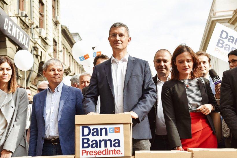 Gafă de senzație a lui Dan Barna. Prezidențiabilul USR a fost salvat de la ridicol de un susținător