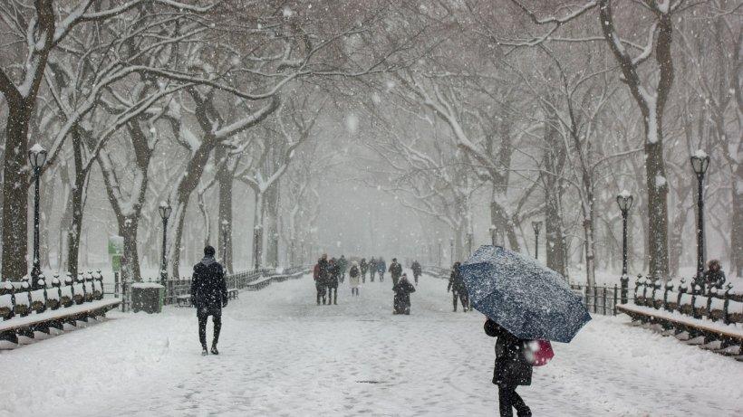 Locul din România unde stratul de zăpadă a ajuns la 10 centimetri. Vezi ultimele avertizări de la ANM