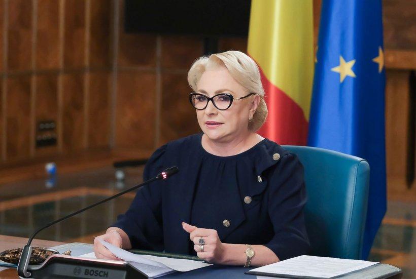 """Viorica Dăncilă: """"Nu a fost încă respins comisarul european. Klaus Iohannis a încercat să stopeze această desemnare"""""""